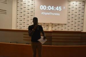 Loic Kono au digital Thursday