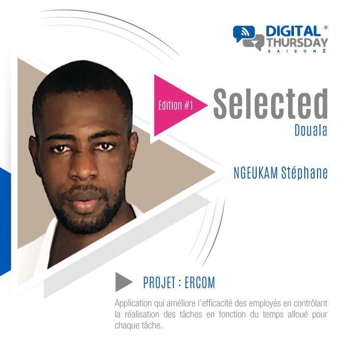 Projet ERCOM par Stéphane NGEUKAM sélectionné final digital thursday